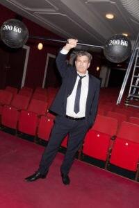 Direktor Thomas Birkmeir im Theater der Jugend