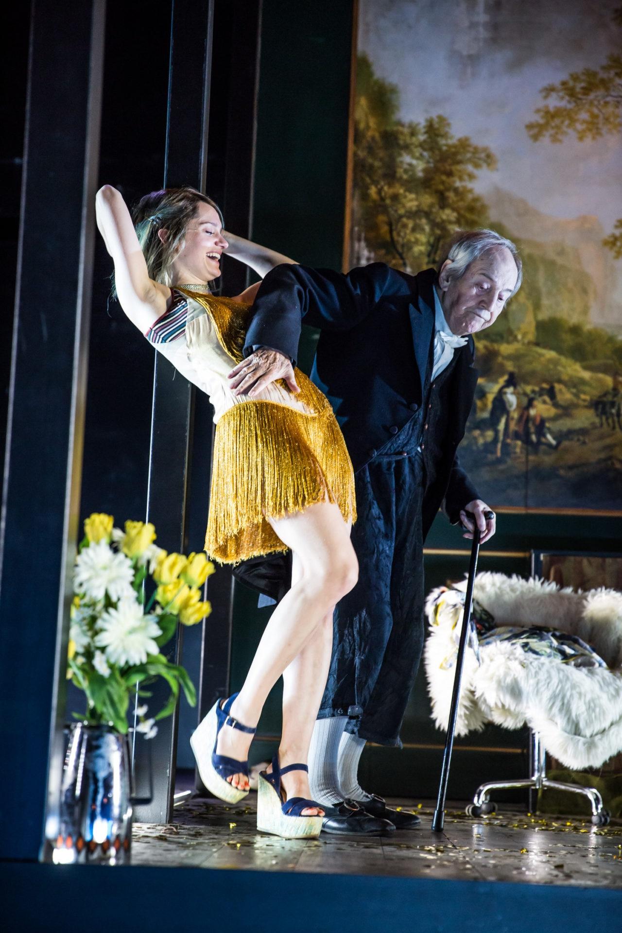 Publikumsliebling Otto Schenk verabschiedet sich vom Theater