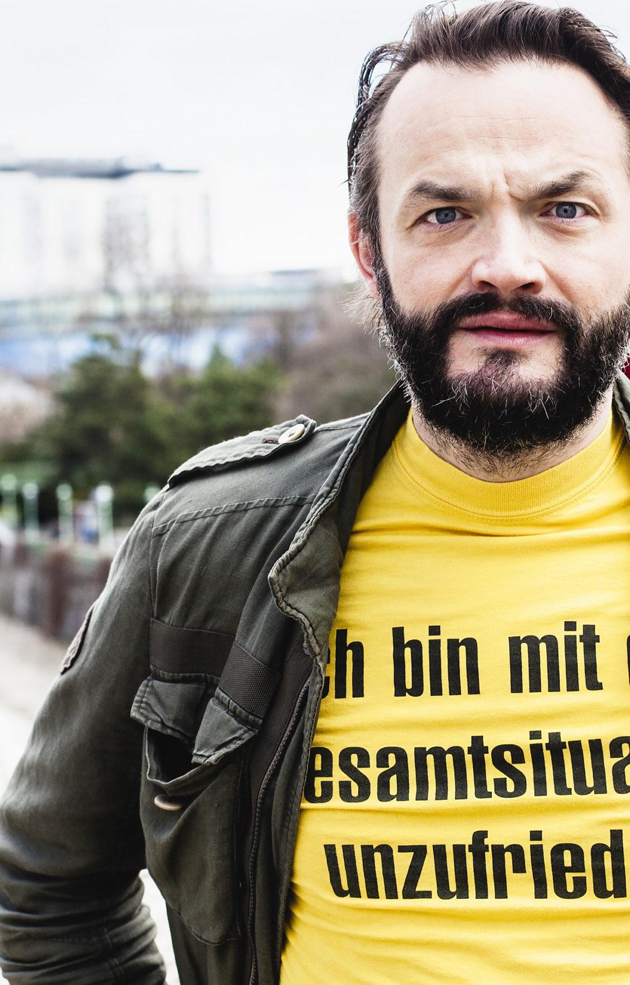 """Roman Schmelzer: """"Gefallsucht ist mir fremd"""""""