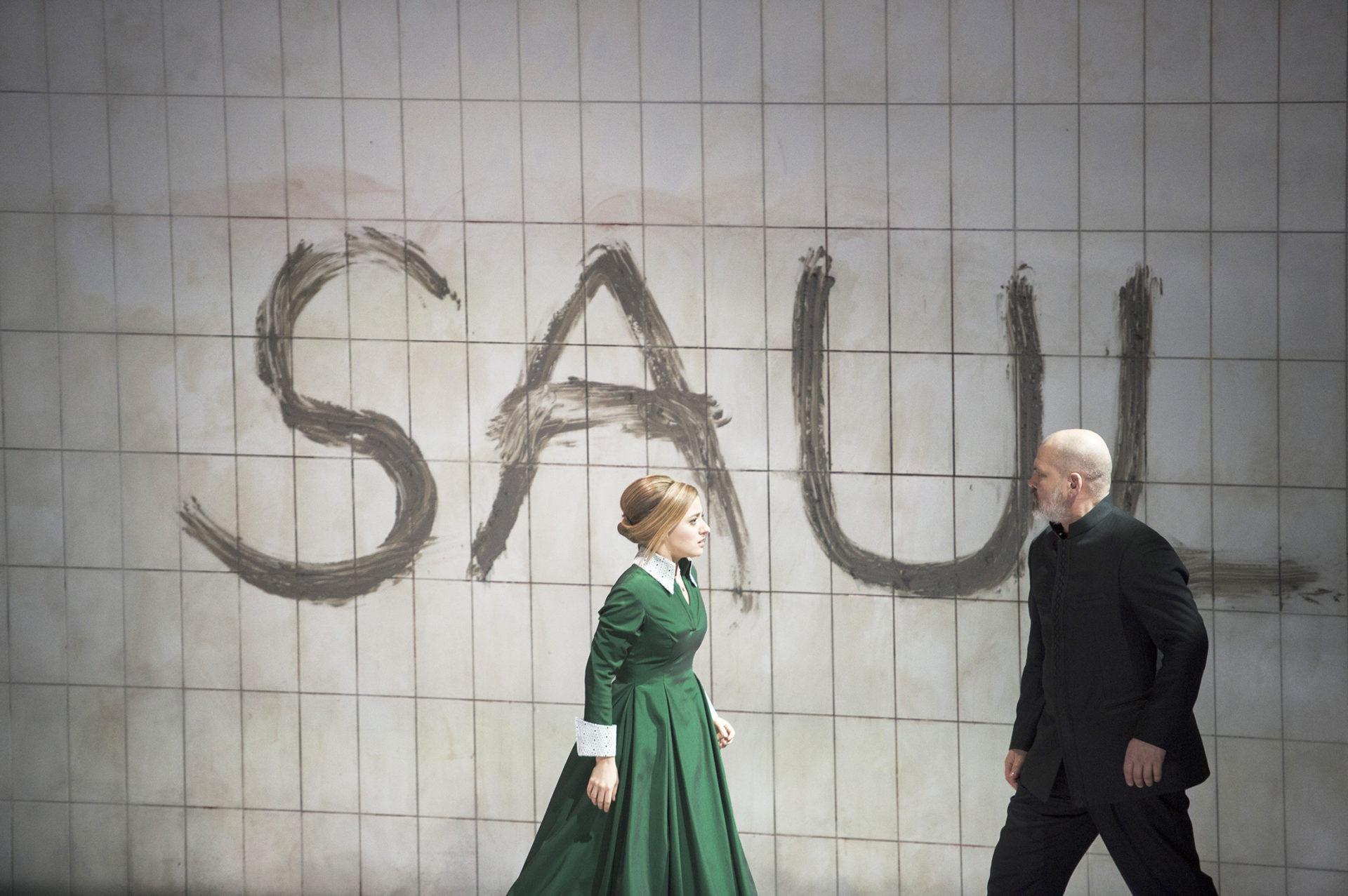Wie ein brodelnder Vulkan: Händels Saul am Theater an der Wien