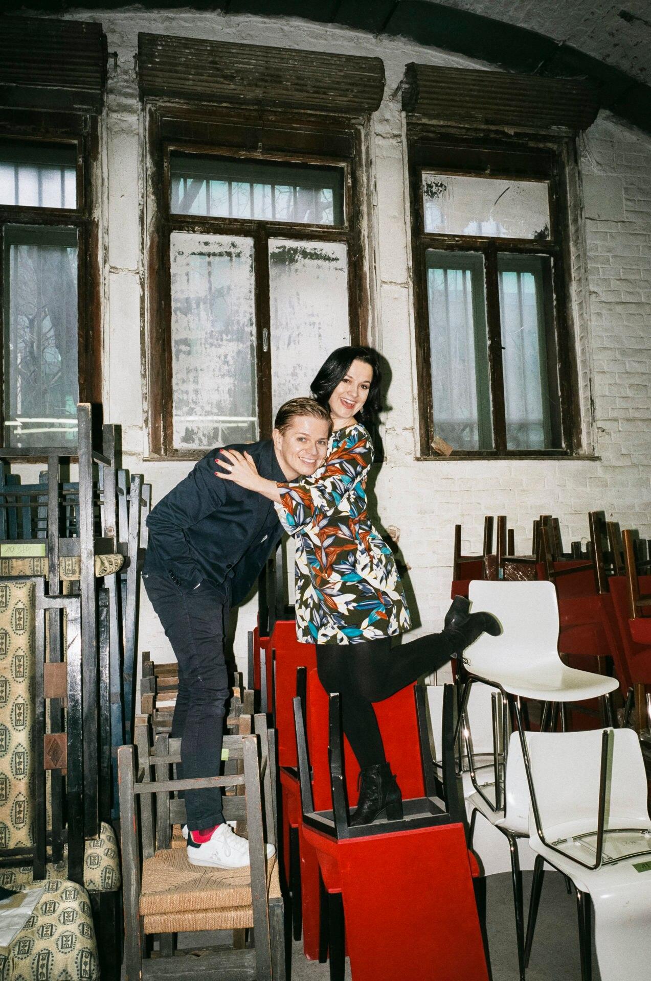 Elisabeth Schwarz und MichaelHavlicek im Land des Lächelns